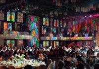 Nuntă de lux cu decorațiuni 3D prin projection mapping