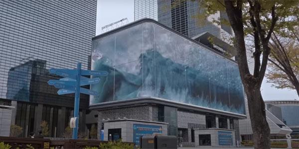 Publicitatea outdoor, dusă la un alt nivel prin spectaculosul proiect WAVE