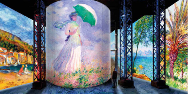 Imersiune în lumea artei, printr-o spectaculoasă expoziție digitală