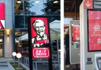 KFC România a lansat prototipul unui kiosk de comandă touchless