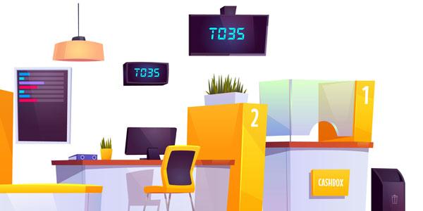 Ecranele digitale în domeniul bancar: timpul de așteptare, perceput mai relaxant